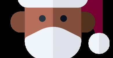 Mascarillas de Navidad