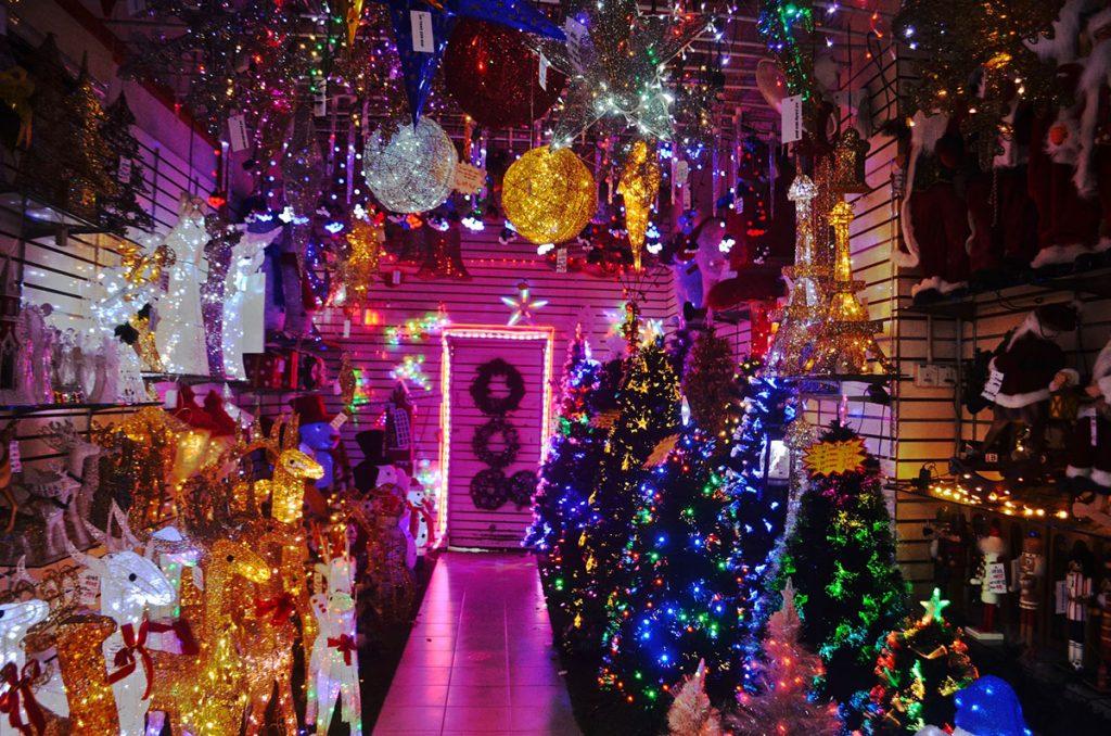 luces de navidad de decoración