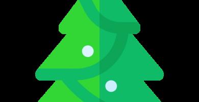 Arbol artificial de navidad