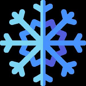 Navidad copos nieve stickers